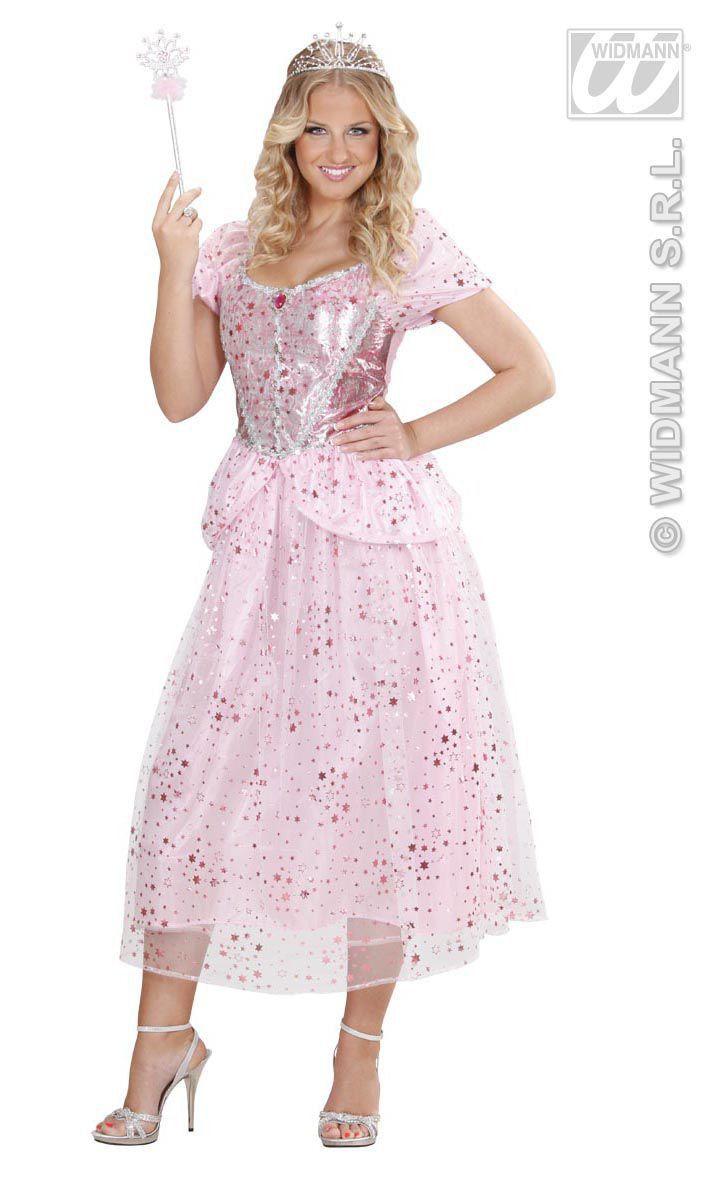 Prinses-Fee Roze Pink Fairy Kostuum Vrouw