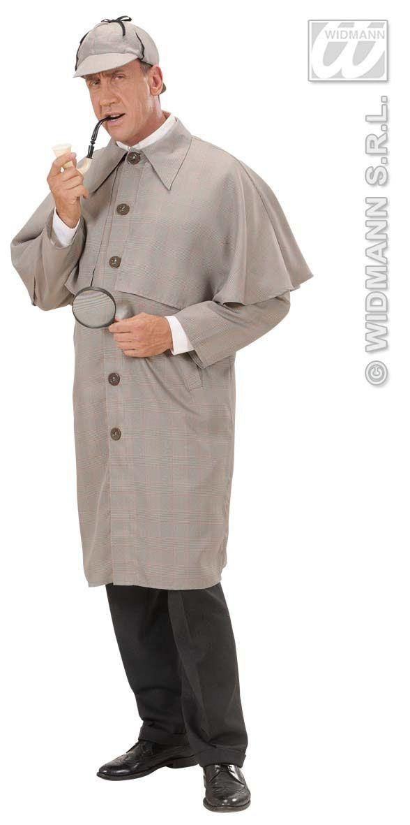 Sherlock Detective Kostuum Man