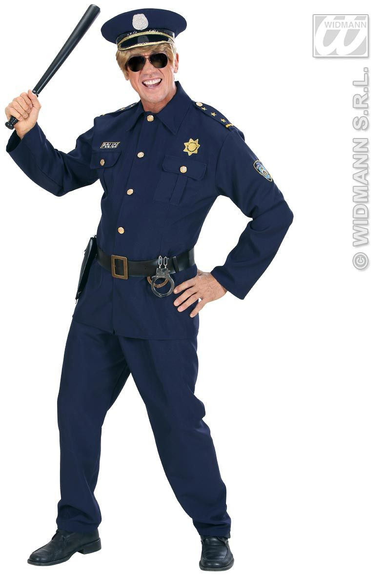 Politieman Mr Arrest Kostuum