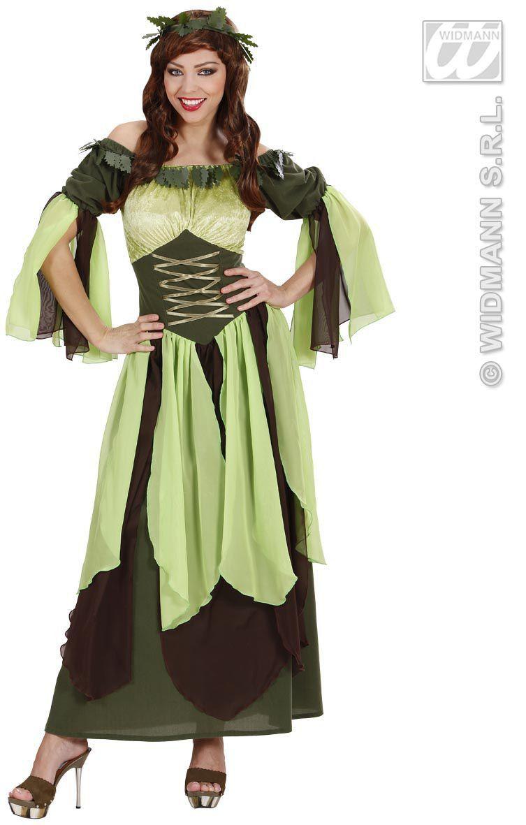 Moeder Natuur Queen Earth Kostuum Vrouw