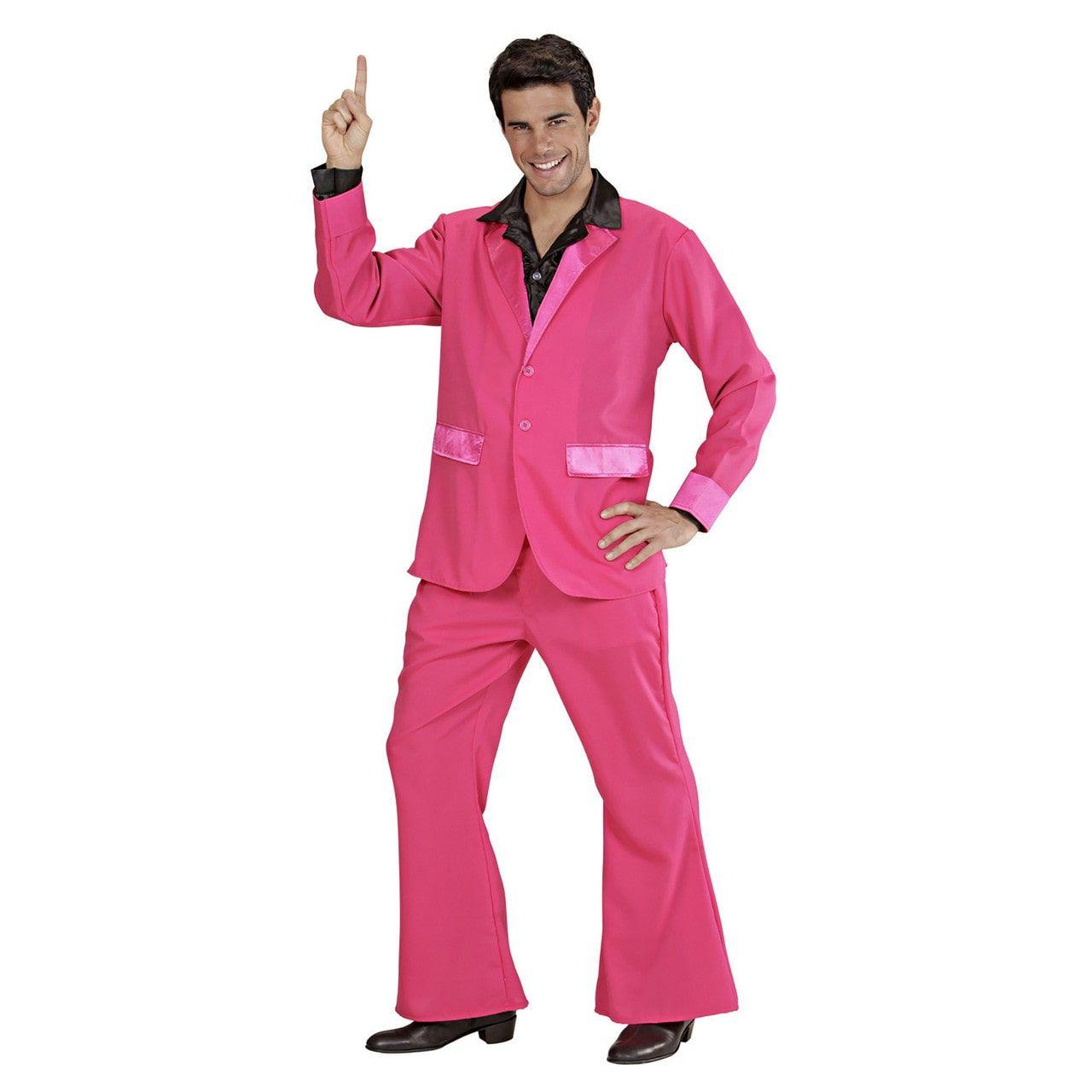 Kostuum Roze Man Kostuum