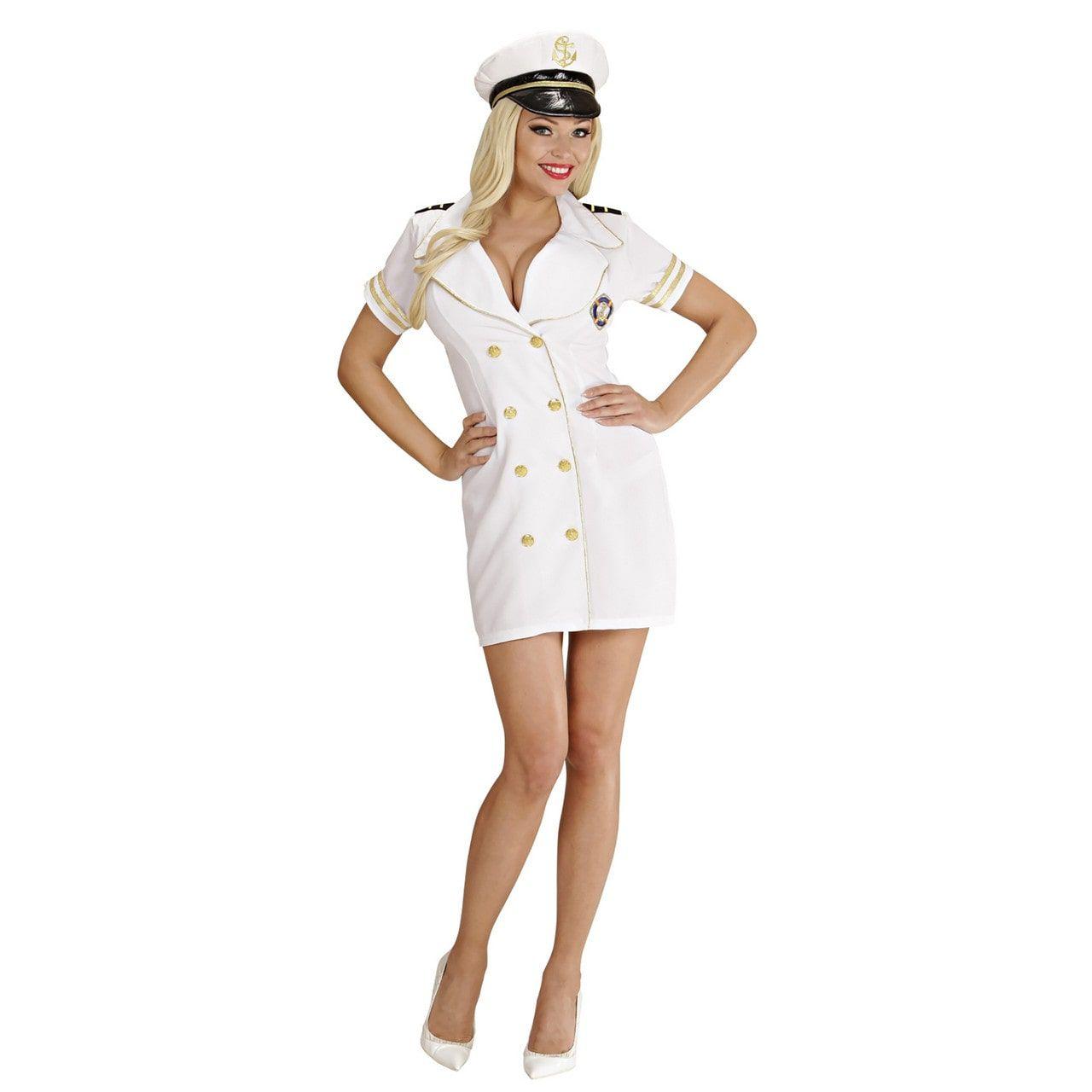 Ay- Ay Vrouwelijke Kapitein Kostuum
