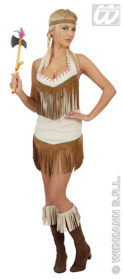 Sexy Indiaanse Zonnekind Kostuum Vrouw