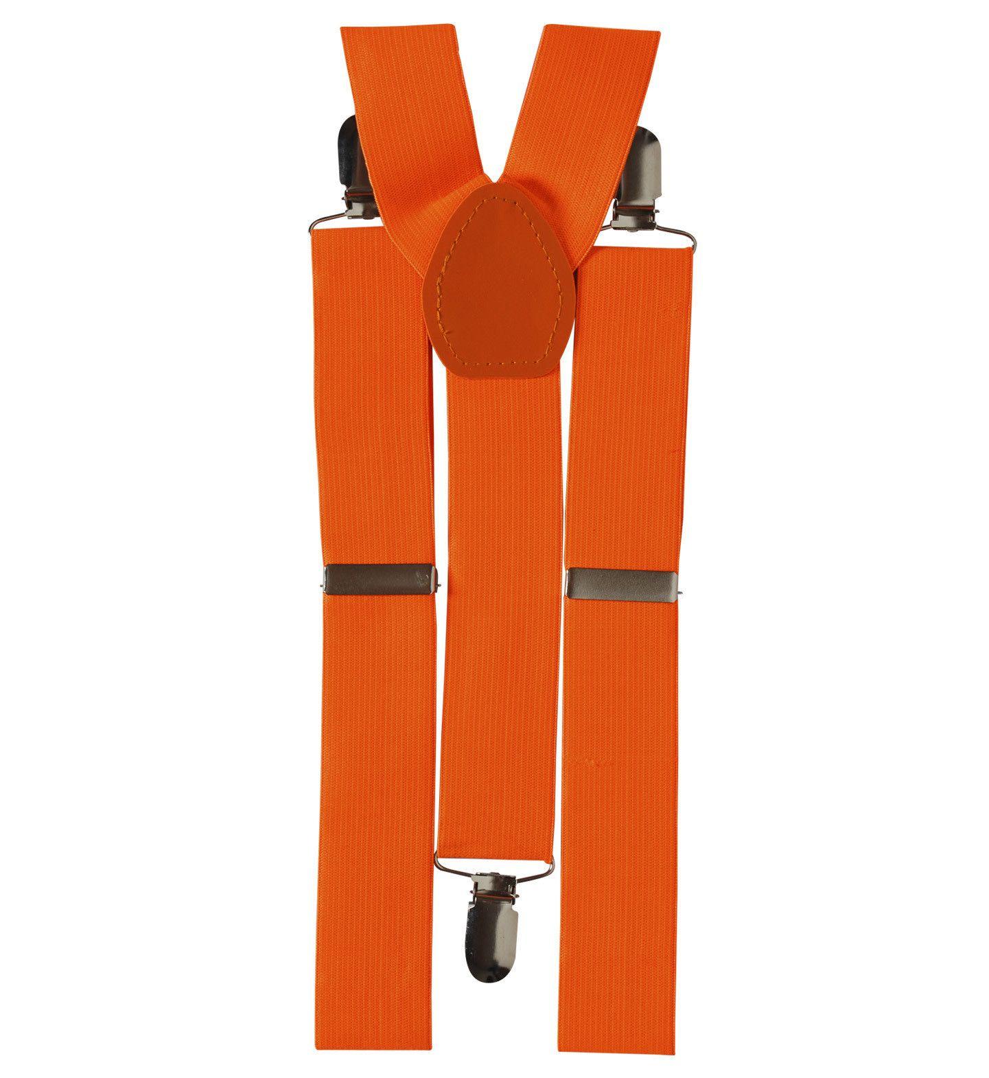 Klassieke Bretels, Neon Oranje