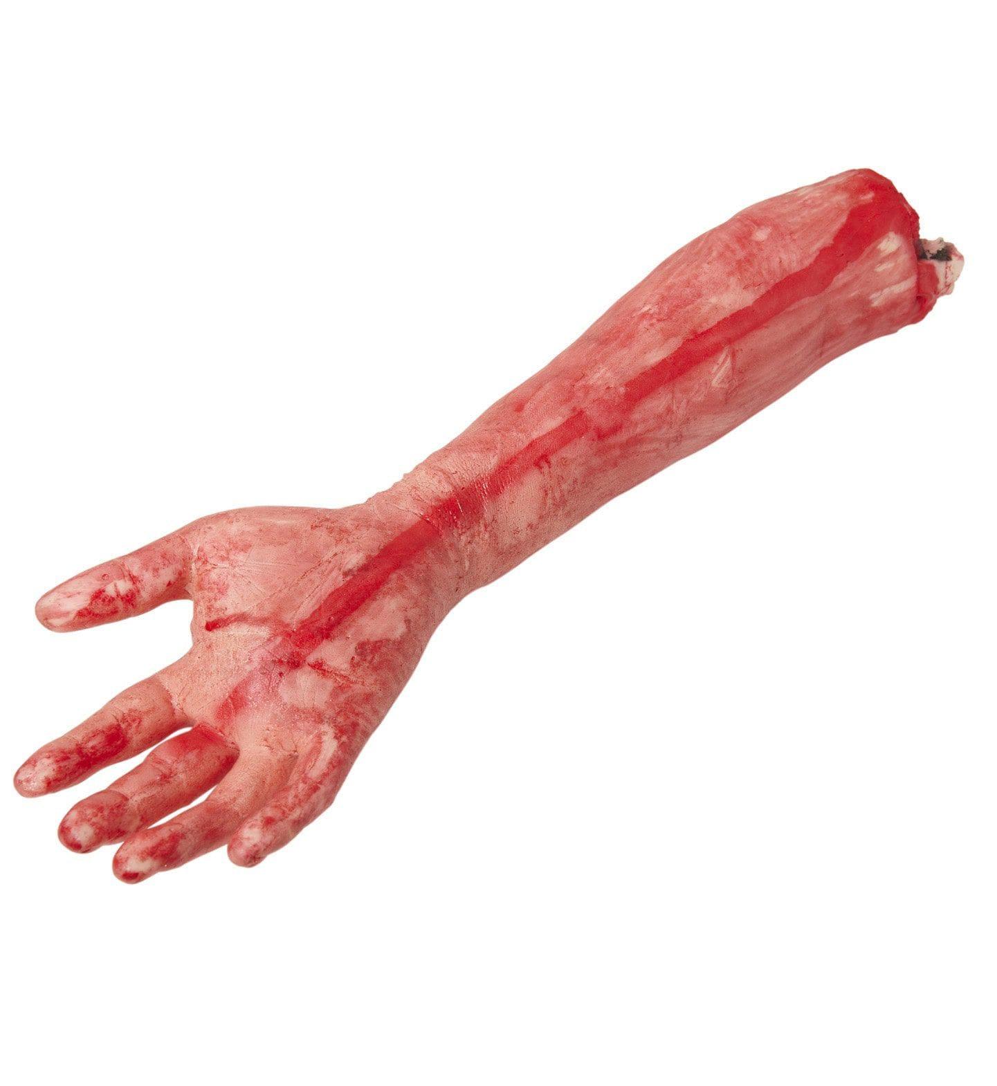 Bloederige Afgehakte Arm