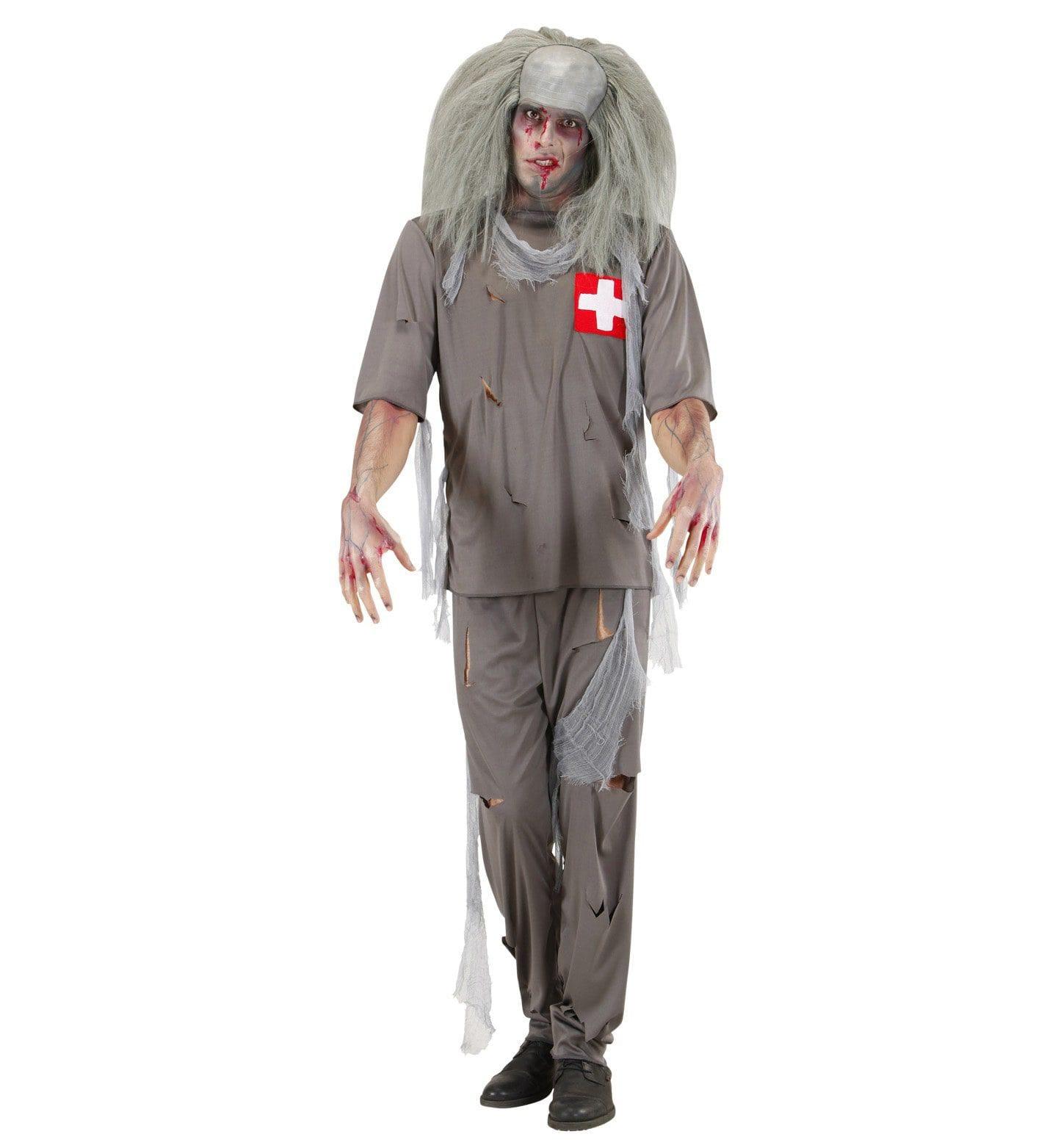 Zombie Dokter Kostuum Man