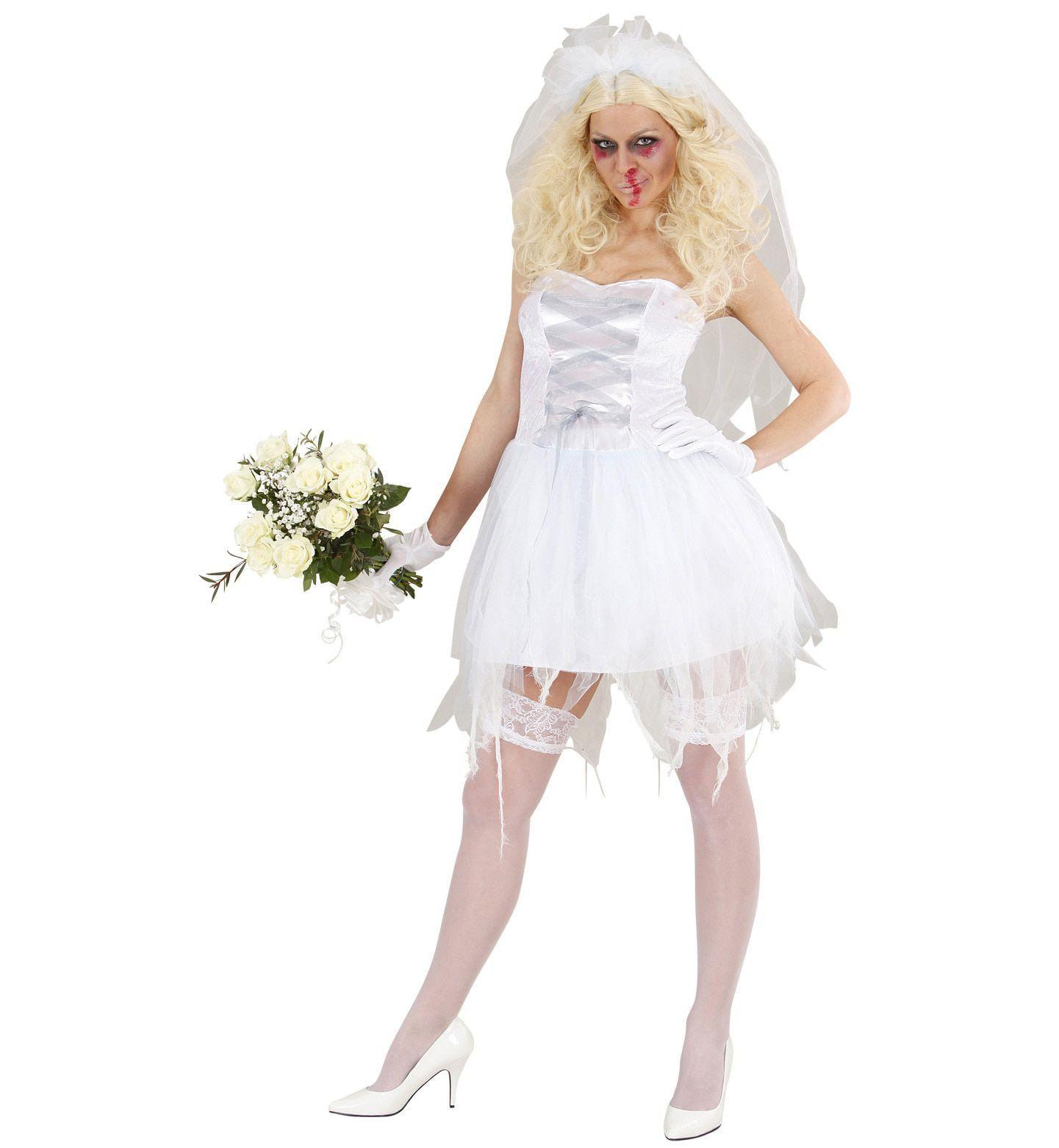 Zombie Bruid Kostuum Vrouw