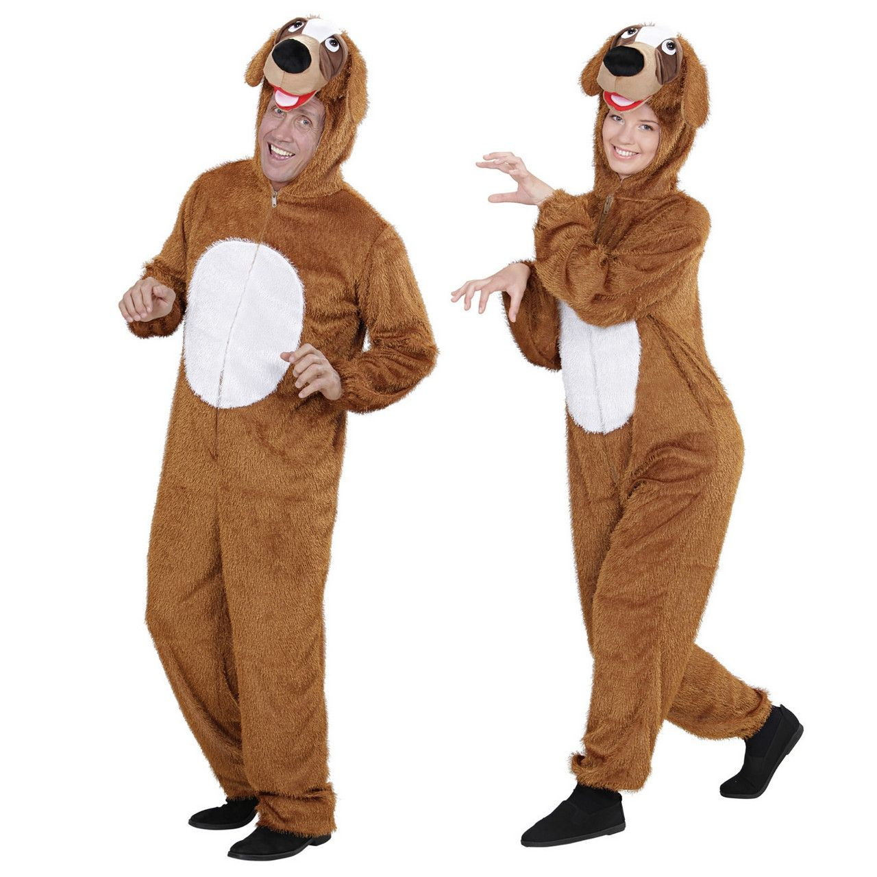 Pluche Hond Goofy Volwassen Kostuum
