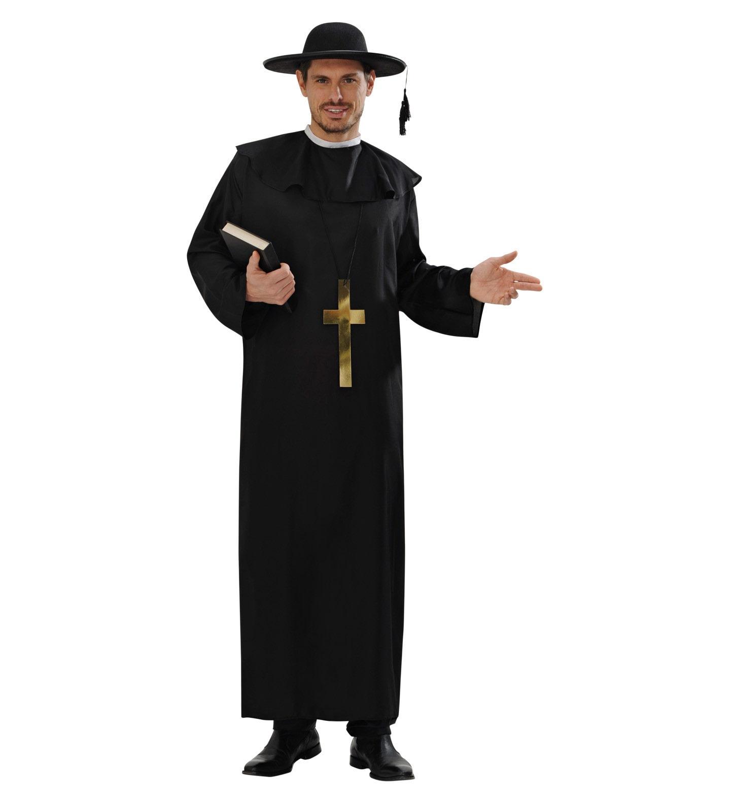 Katholieke Priester Man Kostuum
