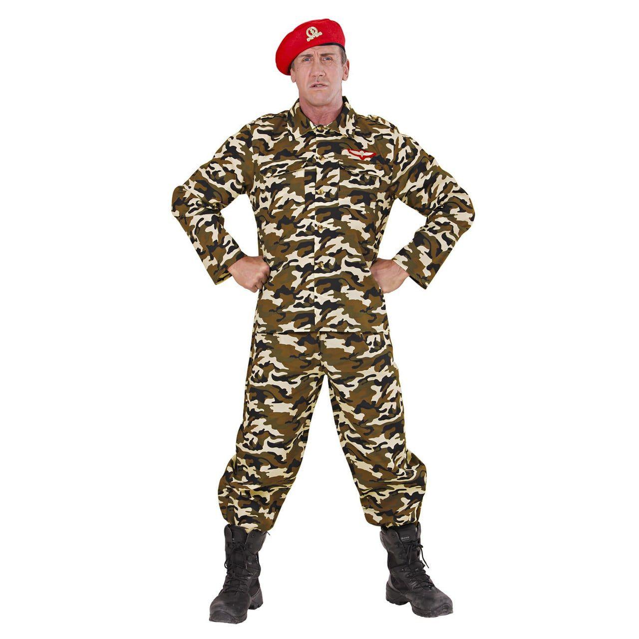 Rambo Soldaat Volwassen Kostuum Man