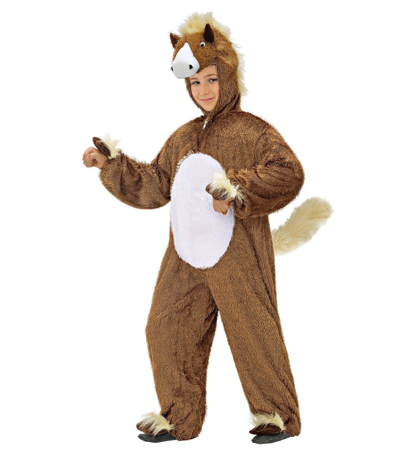Full-Body Pluche Paard Kind Kostuum