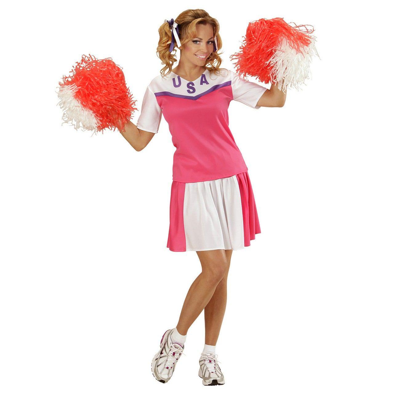 American Football Cheerleader Kostuum