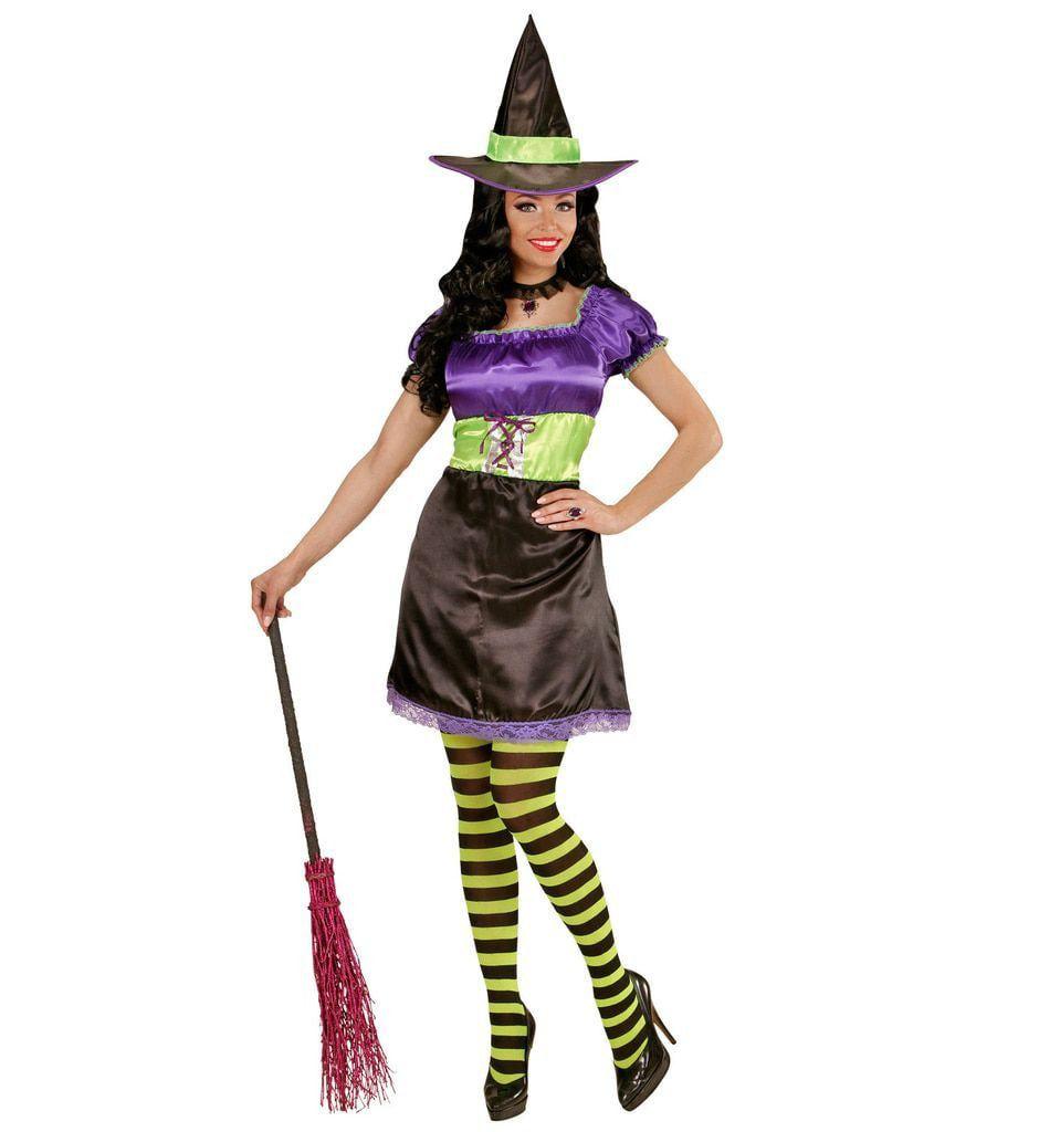 Funky Heks Vrouw Kostuum