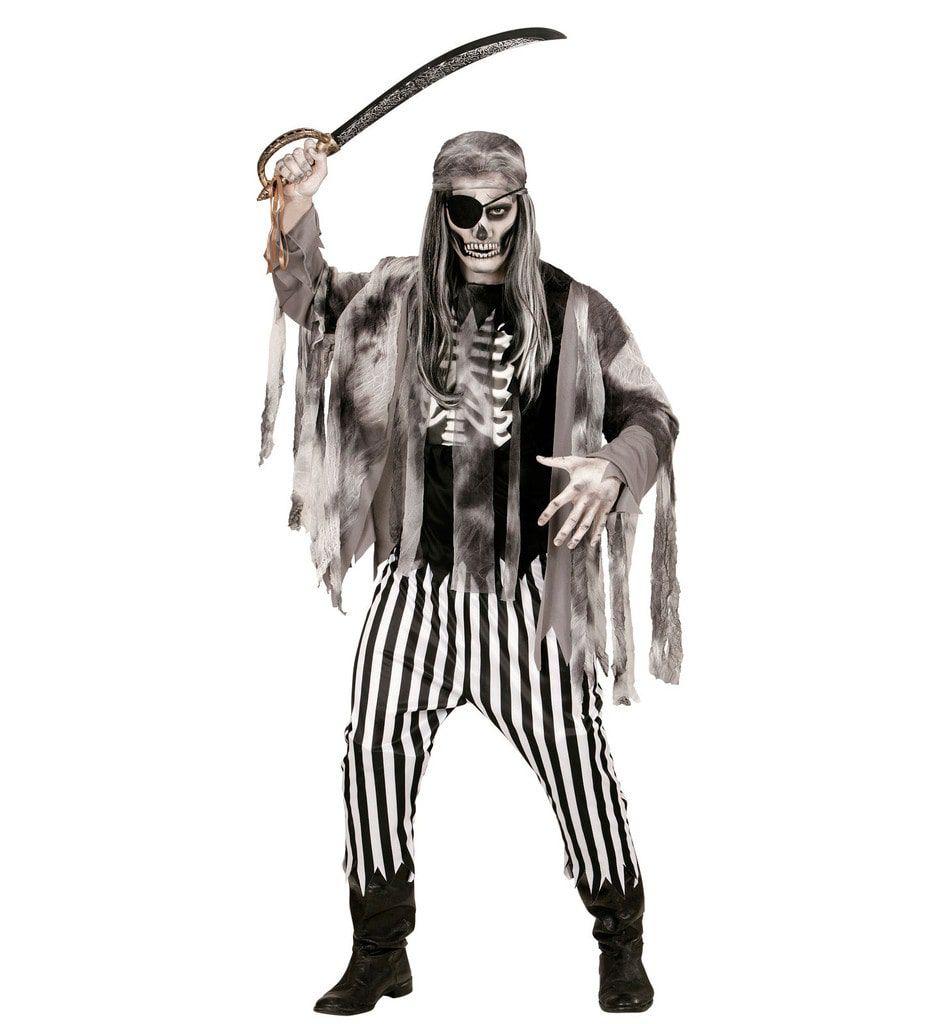 Zombie Piraat Spookschip Man Kostuum