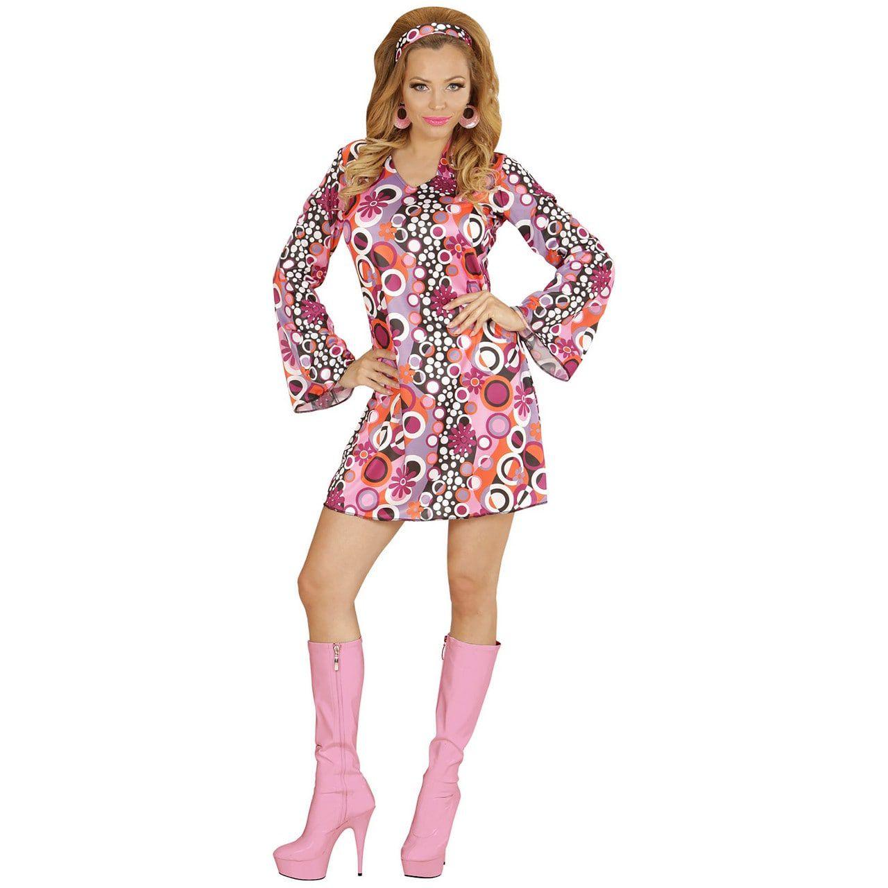 Groovy Dame Summer69 Vrouw Kostuum