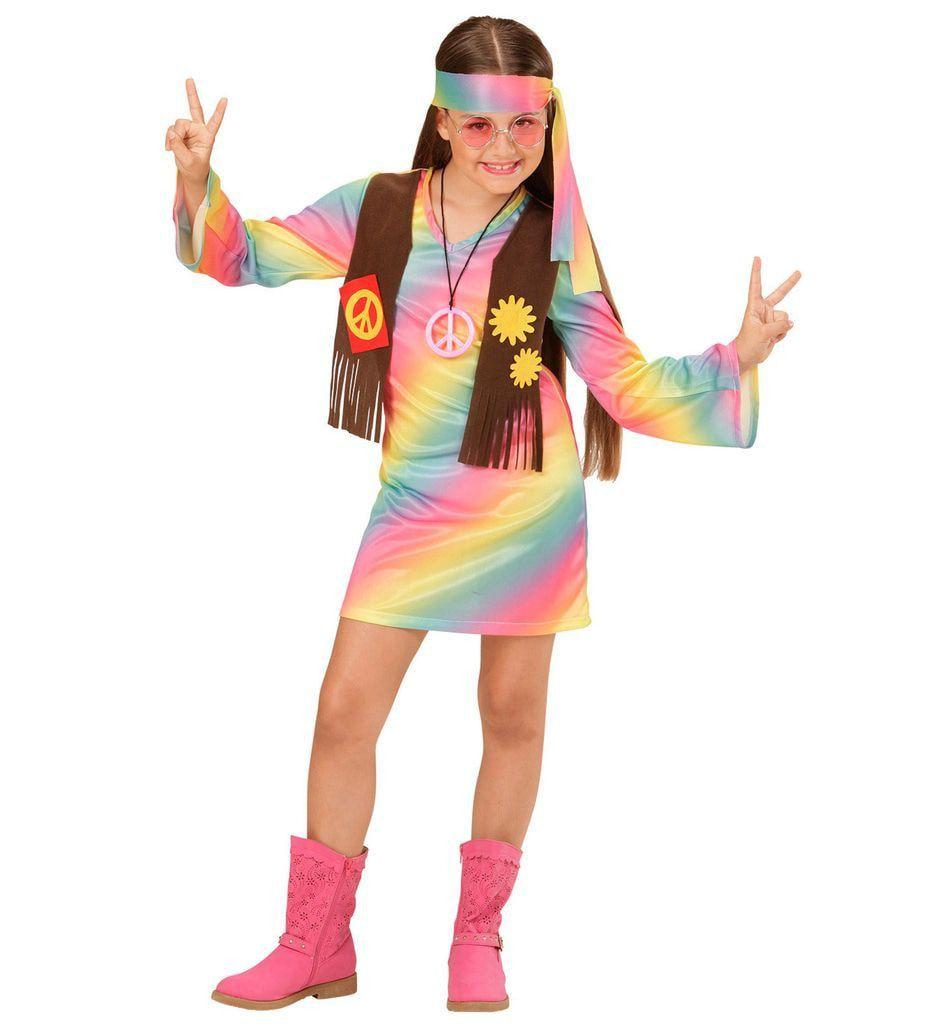 Comeback Hippie Dame Kostuum