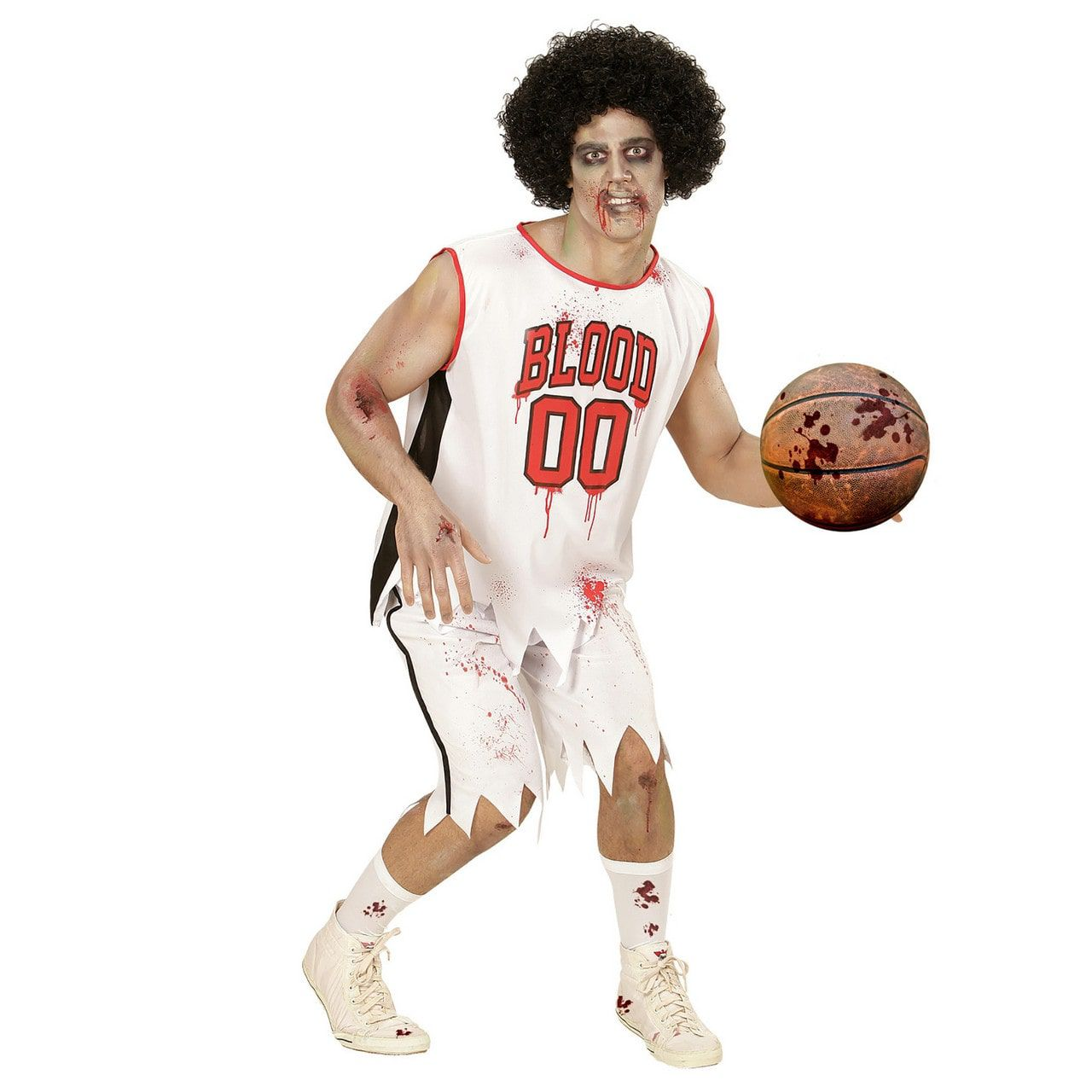All Star Zombie Basketballer Man Kostuum