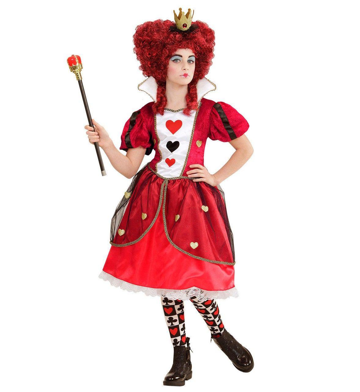 Queen Of Hearts Shuckles Meisje Kostuum