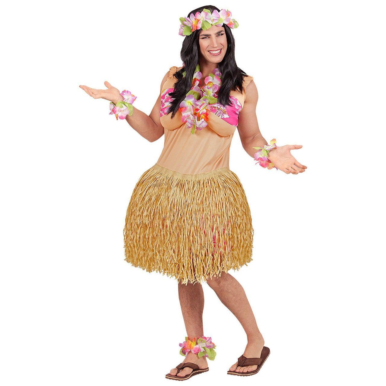 Hawaiiaanse Travestiet Schone Man Kostuum