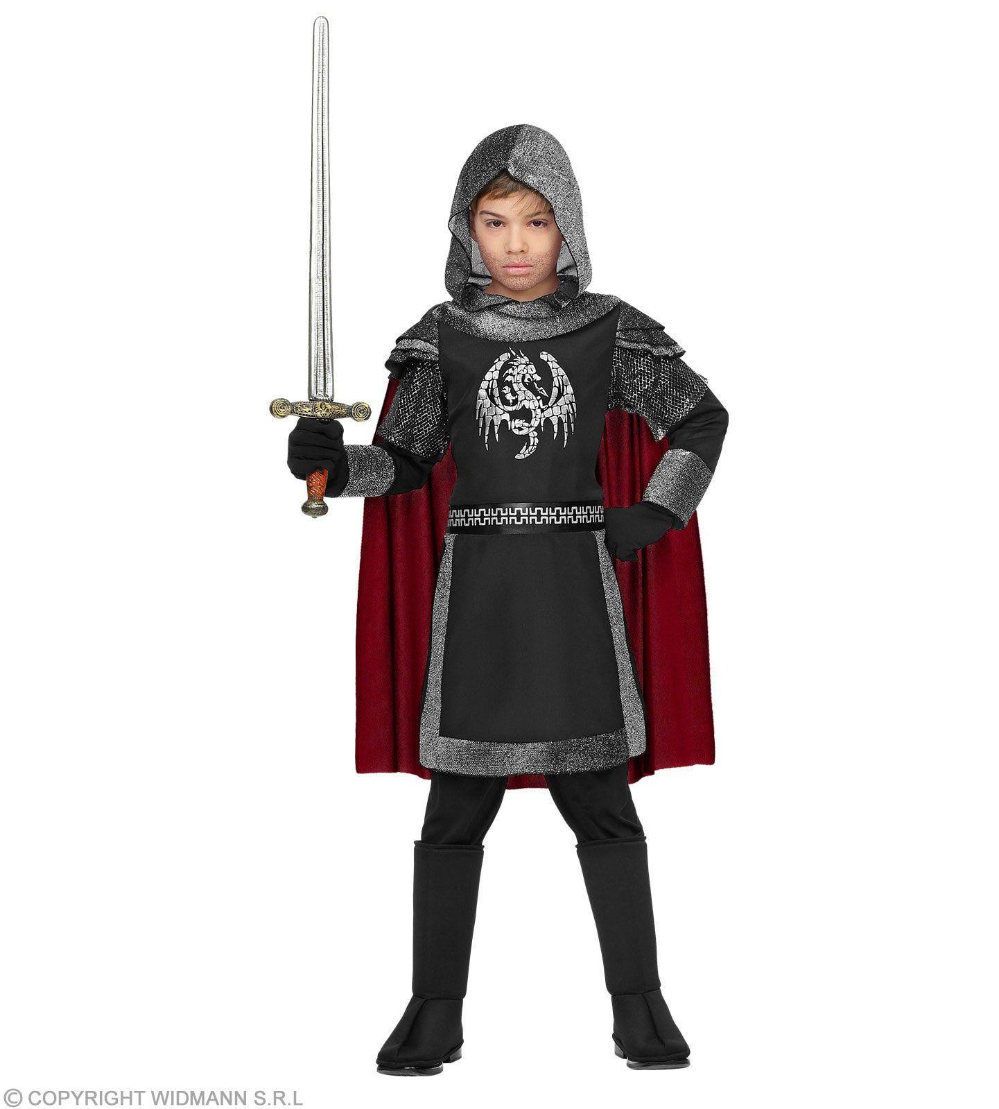 Duistere Draken Ridder Jongen Kostuum