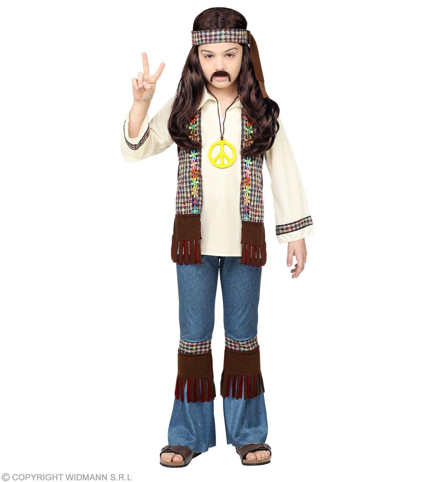 Hippie Lekker Blijven Hangen In De Jaren 60 Jongen Kostuum