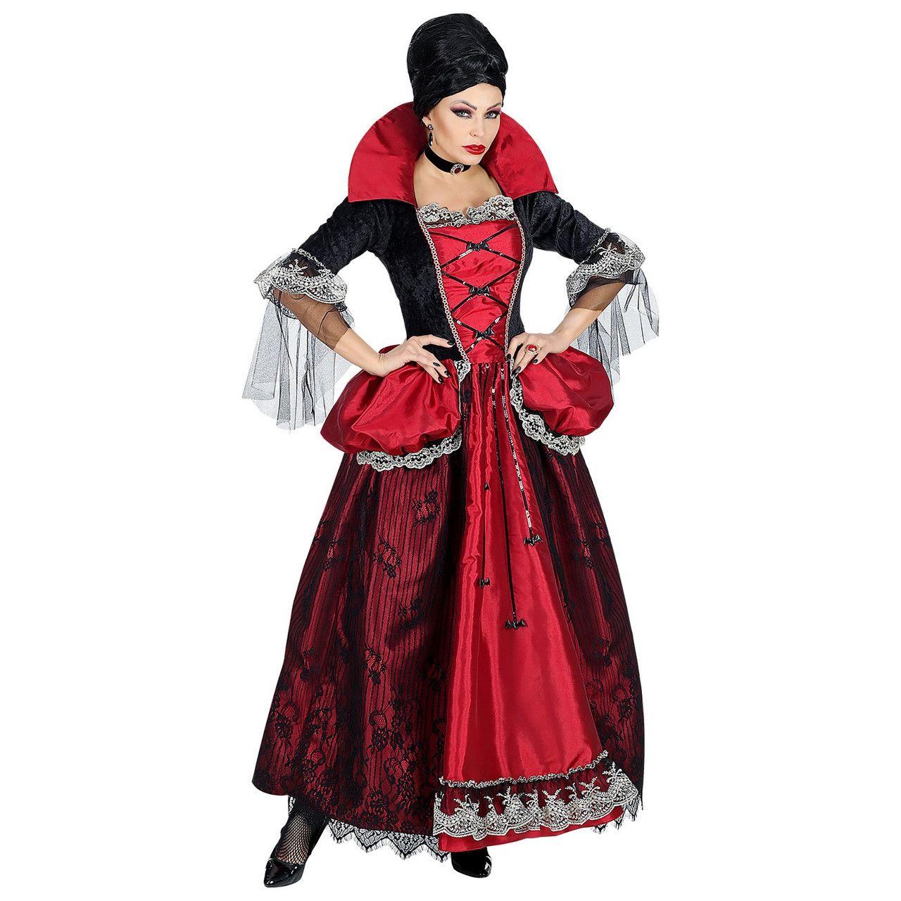 Venijnige Bloedzuchtige Vampier Vrouw Kostuum
