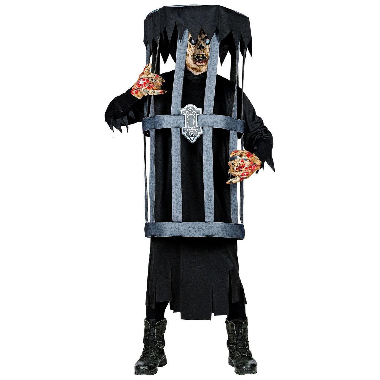 Zombie In Een Kooi Kostuum
