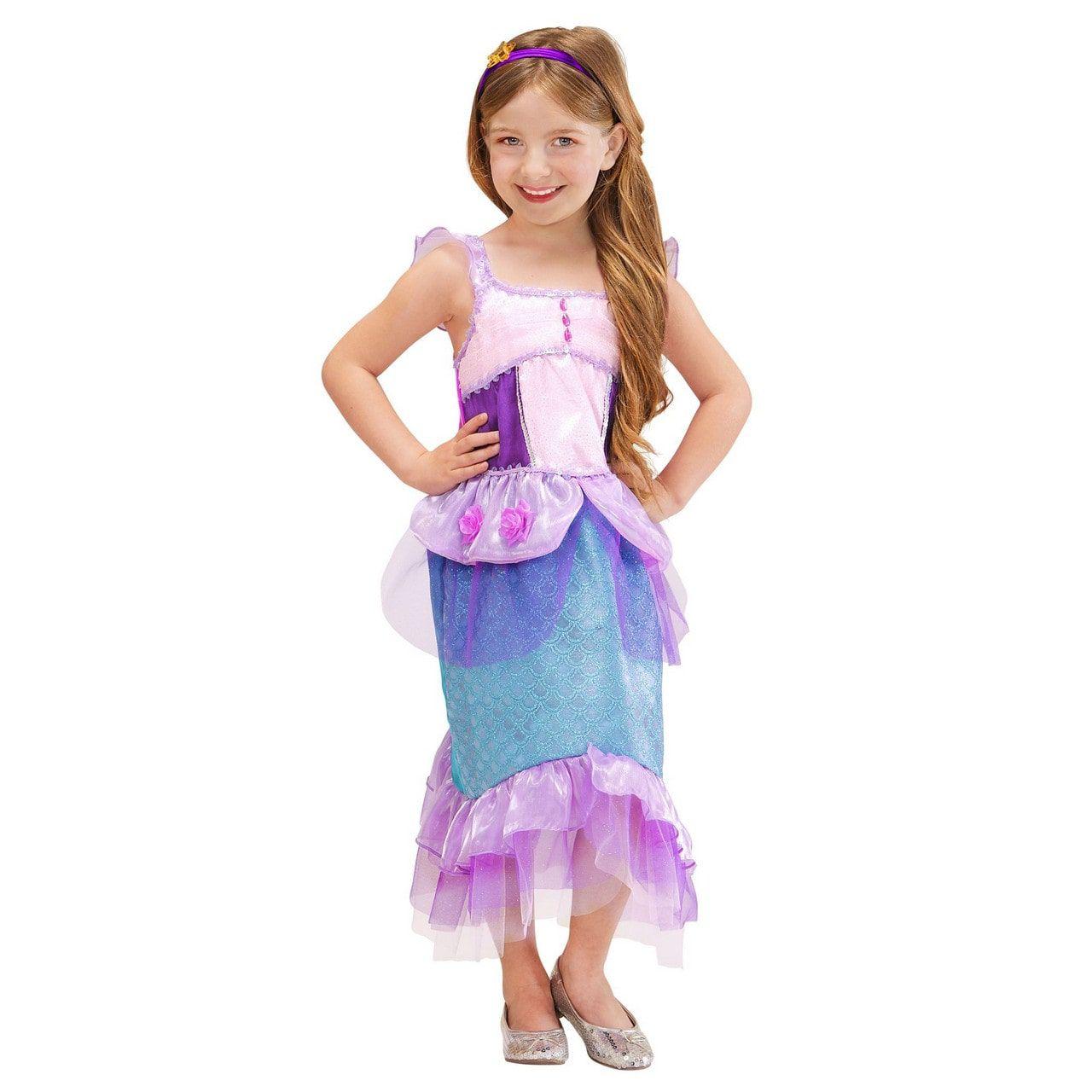 Kleine Zeemeermin Tropisch Water Meisje Kostuum