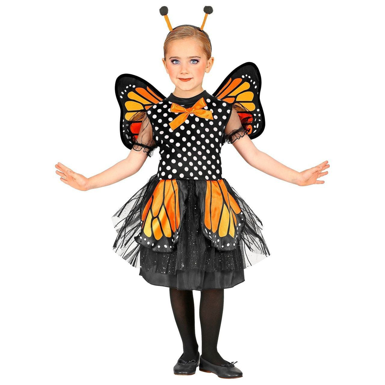 Magnifieke Monarchvlinder Meisje Kostuum