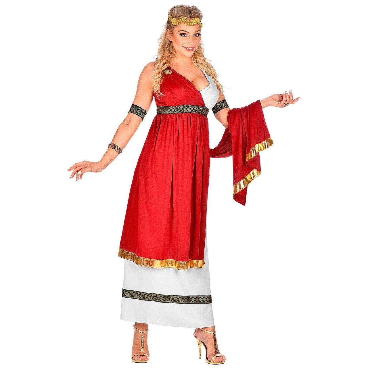 Romeinse Keizerin Cornelia Cunicula Vrouw Kostuum