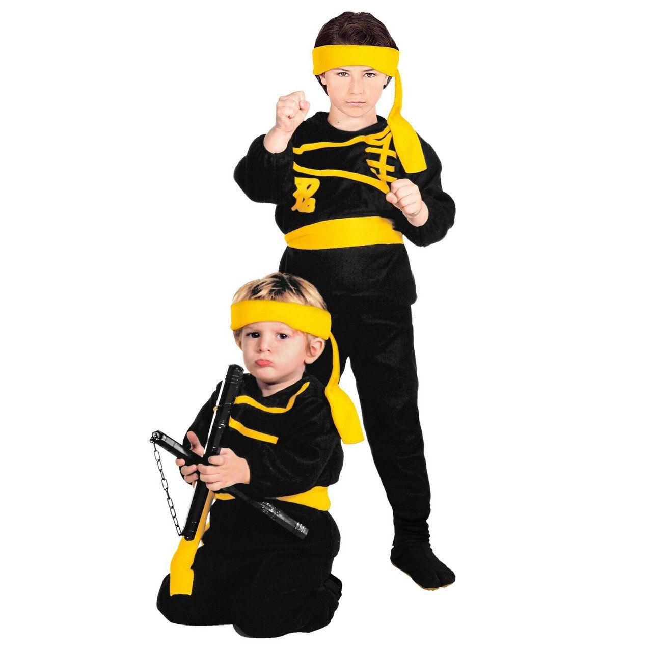 Stil Als De Nacht Hard Als Staal Ninja Kind Kostuum