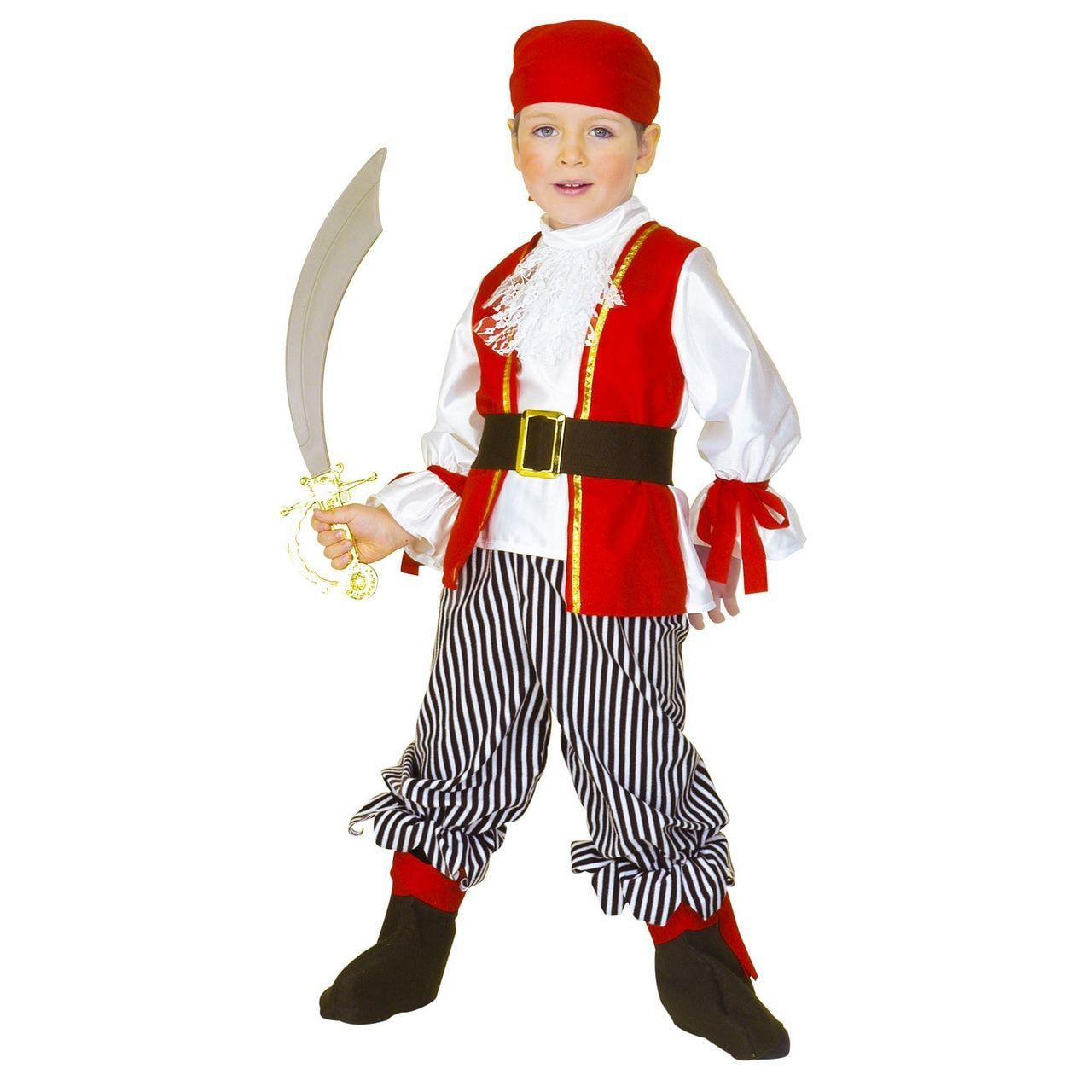 Zuiderzee Zeerover Grote Buit Kind Kostuum