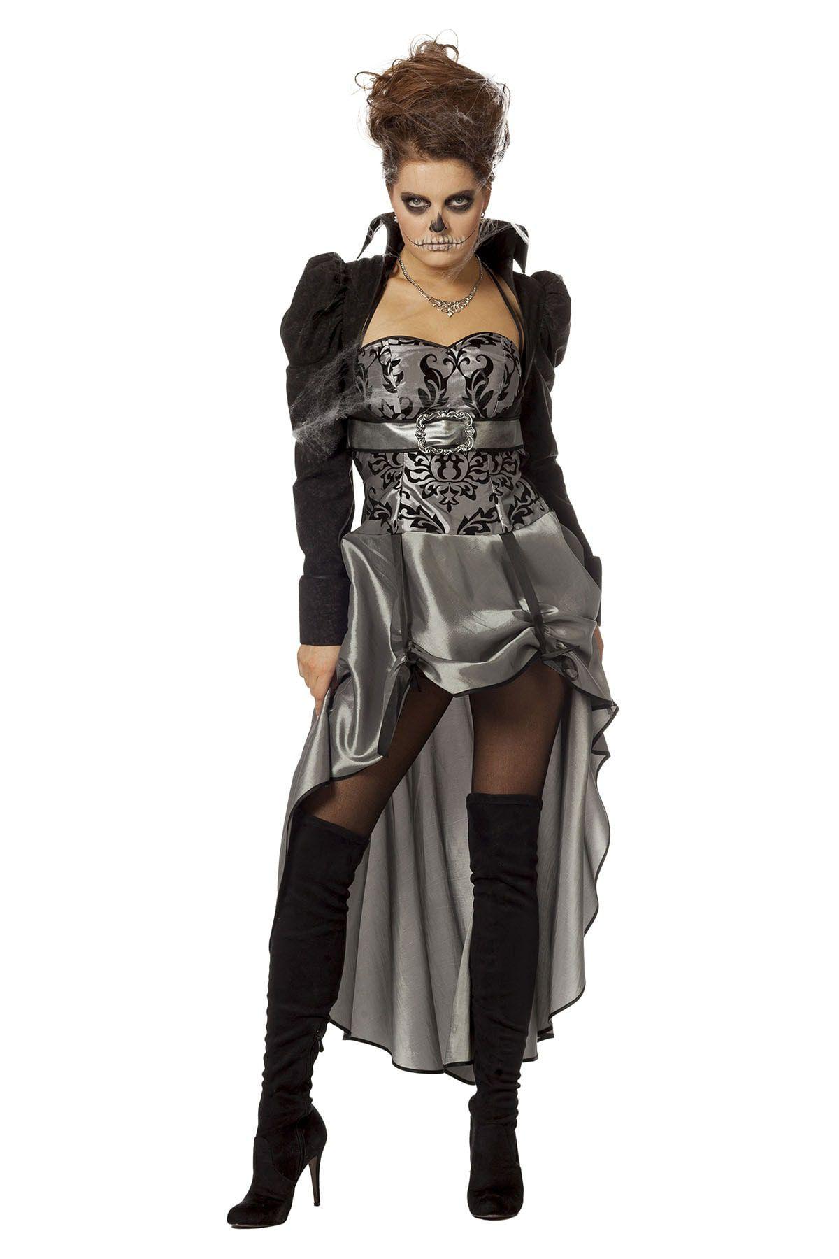 Dark Victorian Lady Vrouw Kostuum