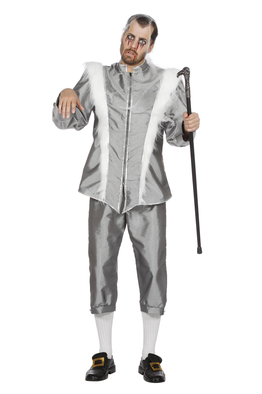 IJskoning Zilver Reykjavik Man Kostuum