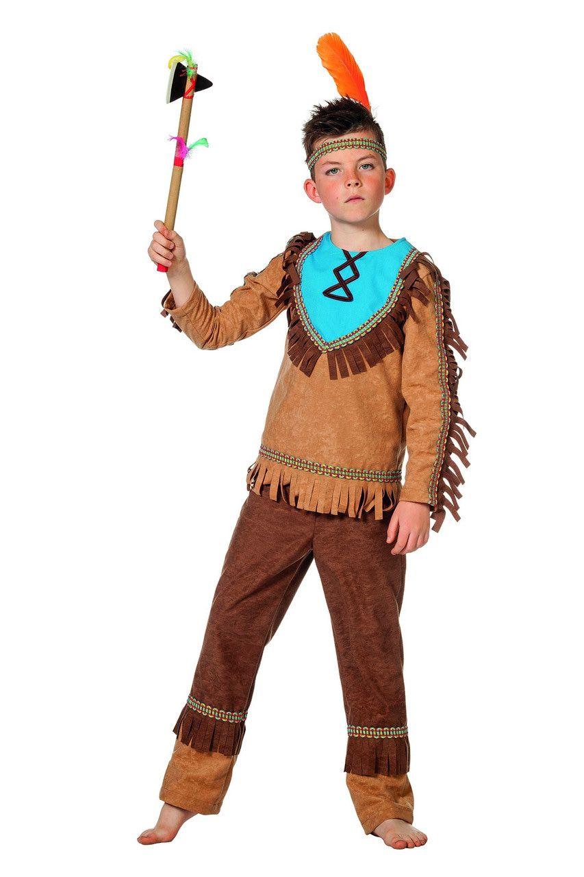 Niet Mee Te Spotten Winnebago Indiaan Jongen Kostuum