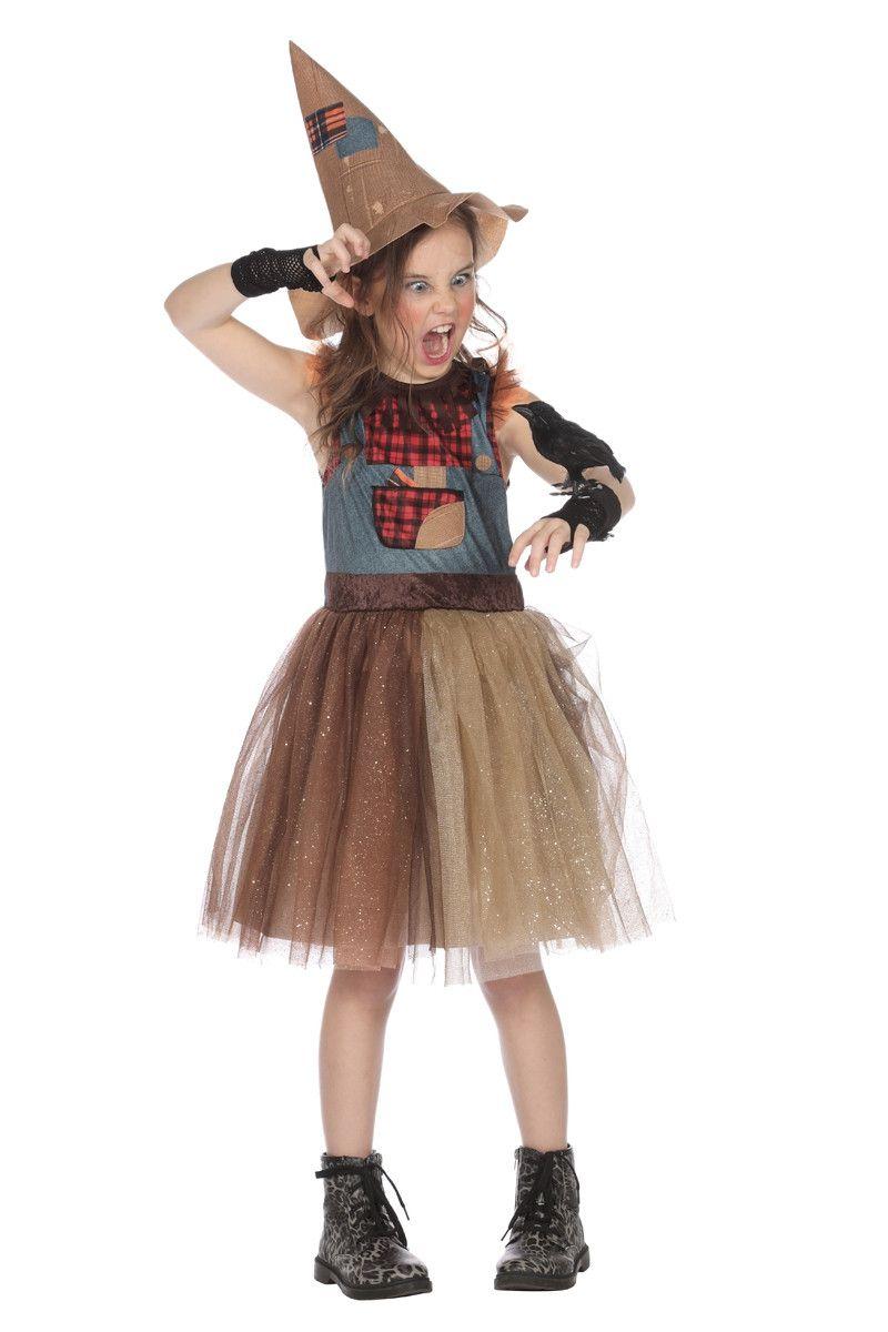 Vogelverschrikker Kersen Boomgaard Meisje Kostuum