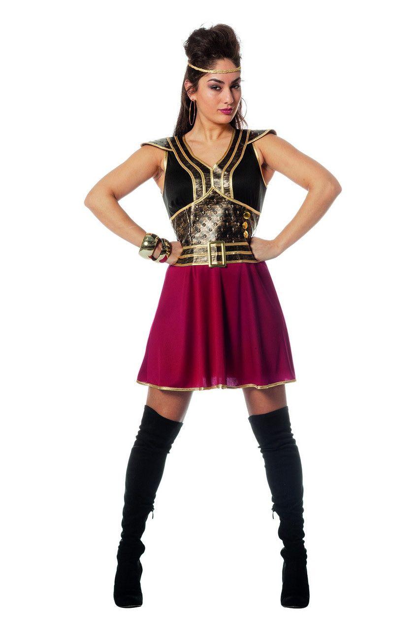 Onoverwinnelijke Amazone Krijger Vrouw Kostuum