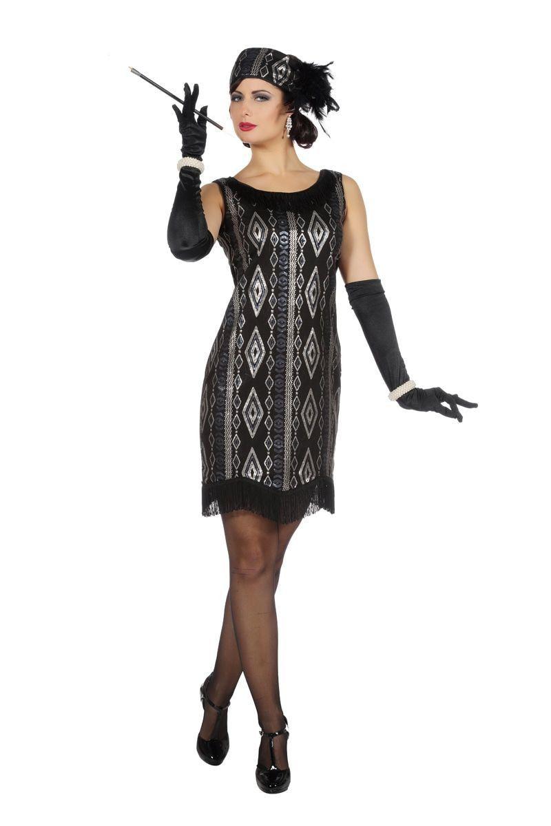 Great Gatsby Charleston Vrouw Kostuum
