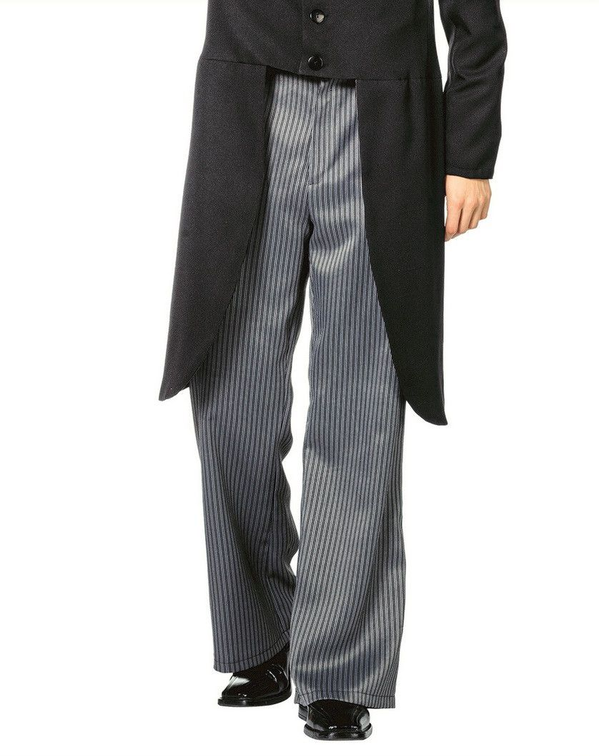 Chique Krijtstreep Pantalon Bankier Man