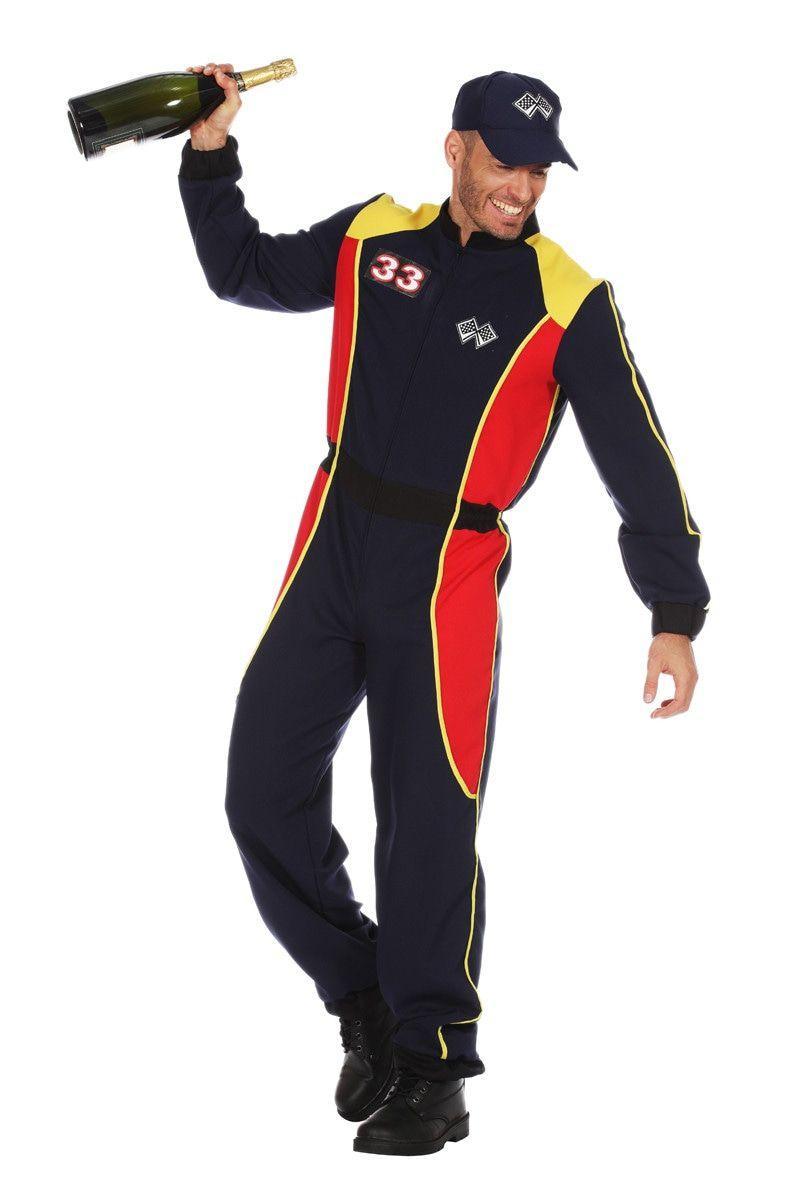 Overall Formule 1 Max Man Kostuum