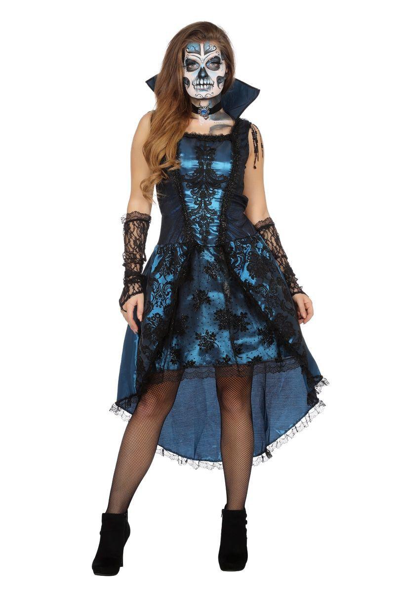 Venetiaanse Gravin Grimaldi Vrouw Kostuum