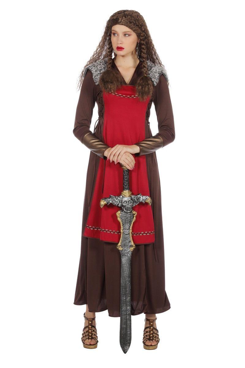 Excalibur Viking Margret Vrouw Kostuum