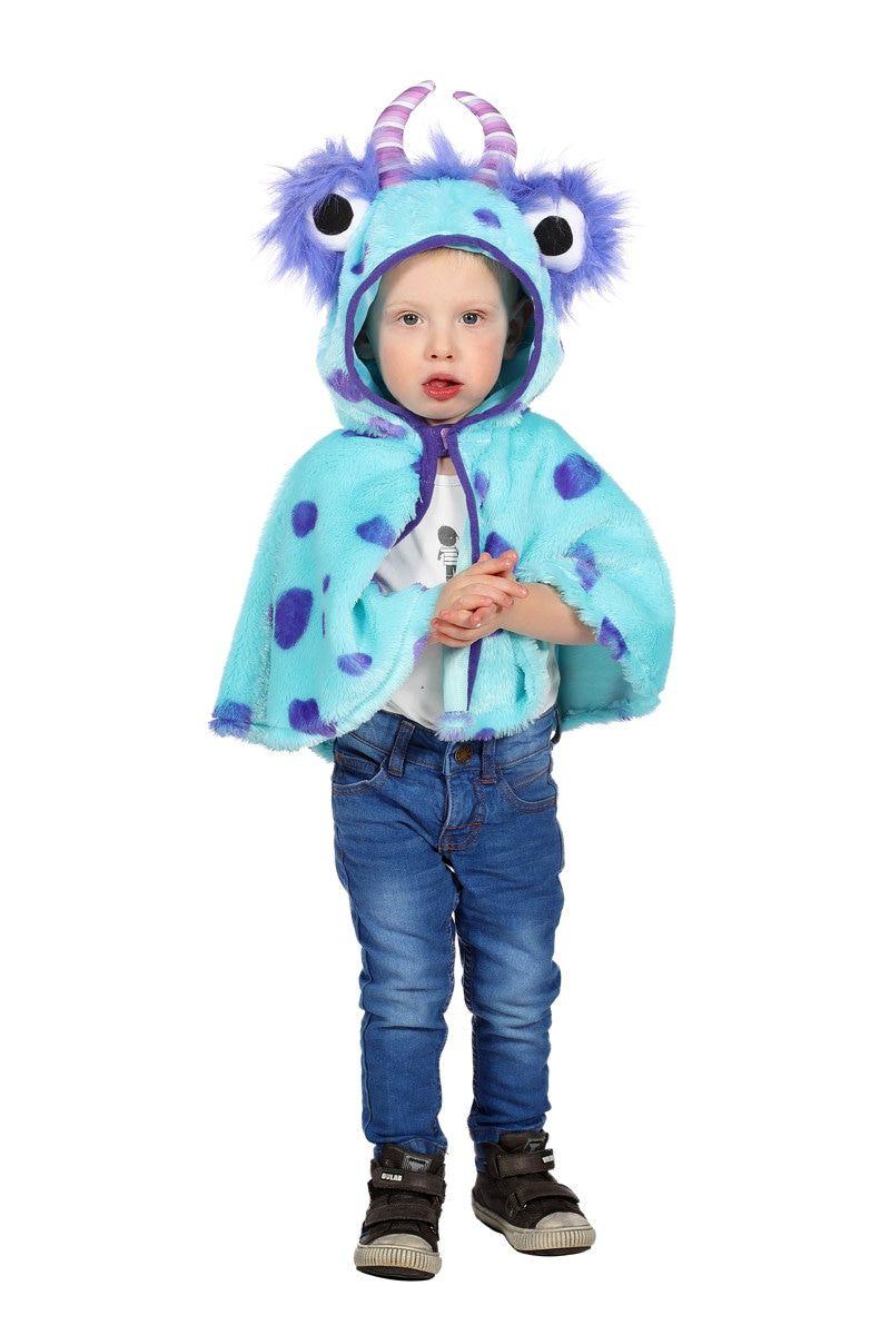 Cape Monster Blauw Sulley Kostuum