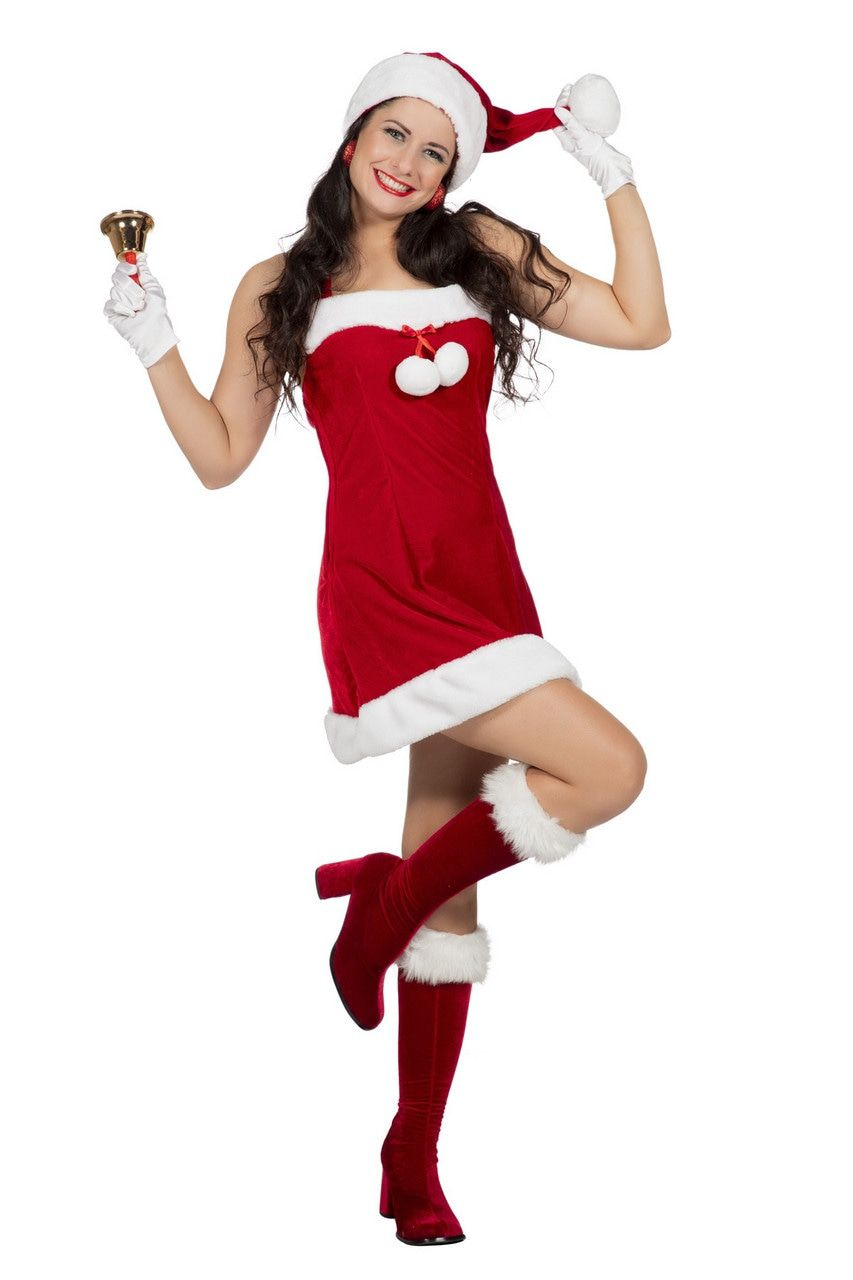 Sexy Kerstballetjes Kerstvrouw Kostuum