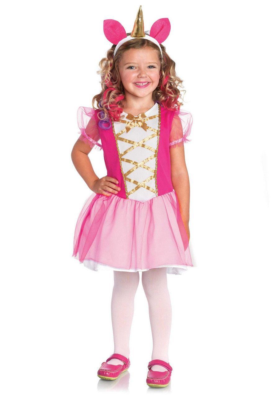 Wonderland Magical Unicorn Meisje Kostuum