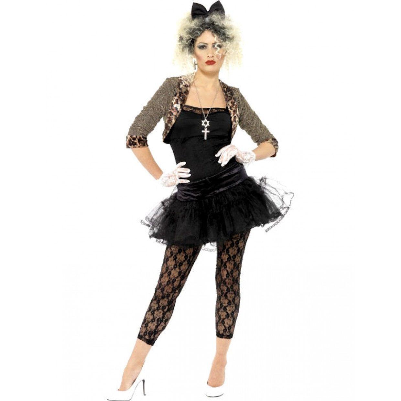 Verrassend Jaren 80 Wild Vrouw Kostuum. Goedkoop & Véél Keus - Feestkleding365 ZH-63