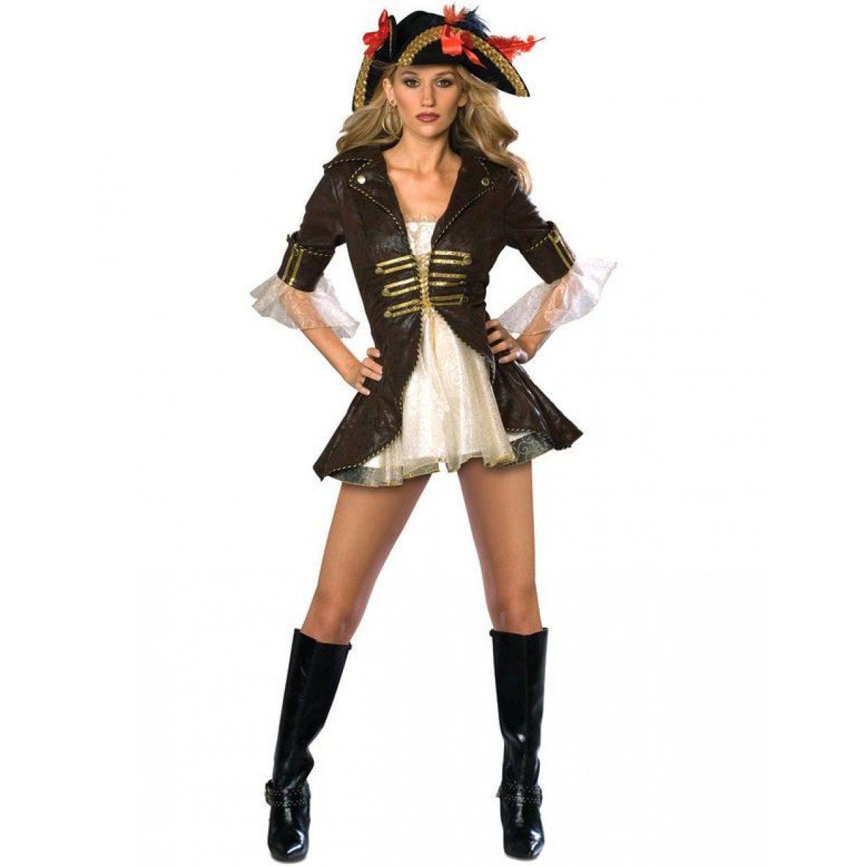 eac9d6d9f95 Vrouw Piraat Vrouw Kostuum. Goedkoop & Véél Keus - Feestkleding365