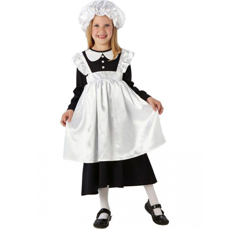 Victoriaans keukenmeisje kostuum die vind je bij feestkleding 365 - Muur kamer meisje ...