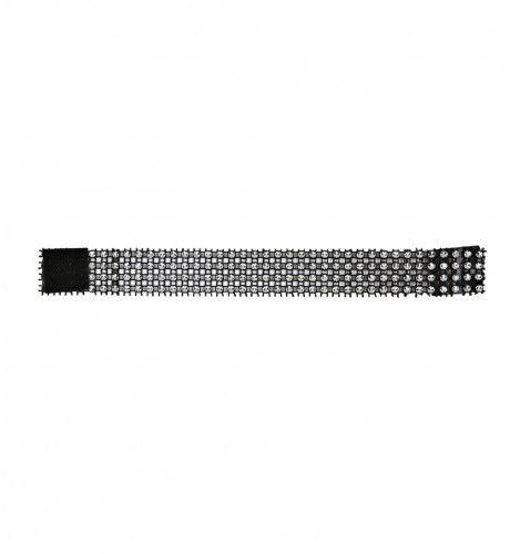 Armband Met Imitatie Diamant Steentjes Zwart