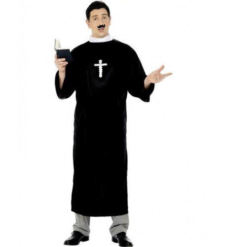 Goedkoop Pastoor-Predikant Man Kostuum